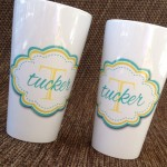 Personalized Latte Mug (17oz)