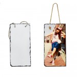 Personalized Photo Rock-Rectangle Stone with Hanging Strip