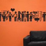 Oh La Love Wall Decals