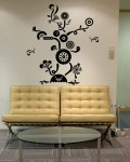 Tree Flower 2 Wall Decals