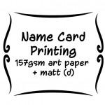 157gsm art paper + matt (d)