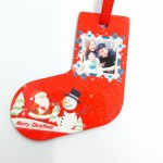 Personalized Christmas Hardboard Ornament Stocking