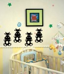 Little Moo Wall Decals