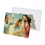 Personalized Rectangle Shape Puzzle with Stand (63pcs/Sheet)