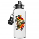 Personalized 600ML Aluminium Water Bottle-White