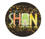 Personalized Felt Mug Coaster-Round