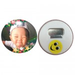 Personalized Button Badge Fridge Magnet 58MM ( Magnetic Opener )