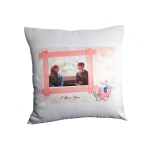 Personalized Square Cushion-Peach Skin