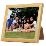 Ceramic Tile with Wooden Frame 20cm x 15cm (6 x 8inches) - Rectangle