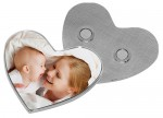 Personalized Metal Fridge Magnet - Love