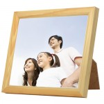Ceramic Tile with Wooden Frame 25cm x 20cm (8 x 10 inches) - Rectangle