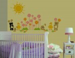 Mini Safari 1 Wall Decals