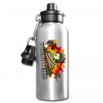 Personalized 600ML Aluminium Water Bottle-Silver