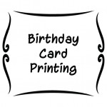 Birthday Card Printing