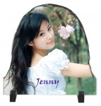 Personalized Photo Rock - Door Shape Stone