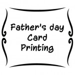 Father's Day Card Printing