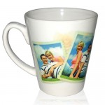 Personalized Latte Mug (12oz)