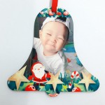 Personalized Christmas Hardboard Ornament Bell