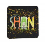 Personalized Felt Mug Coaster-Square