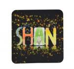 Personalized Felt Mug Coaster-Square