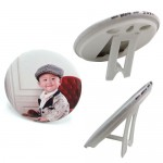 Personalized Button Badge Photo Stand (58MM)